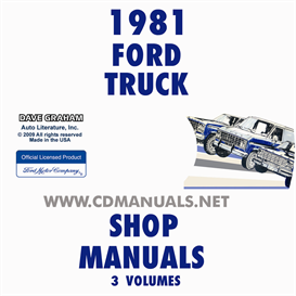1981 Ford Truck And Van Repair Manual Set | eBooks | Automotive