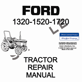 1320, 1520, 1720 Ford Tractor Shop Manual | eBooks | Automotive