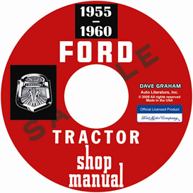 1955-1960 Ford Tractor Shop Manual | eBooks | Automotive