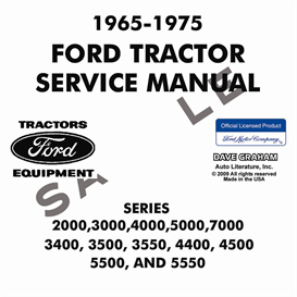 1965-1975 Ford Tractor Service Manual | eBooks | Automotive