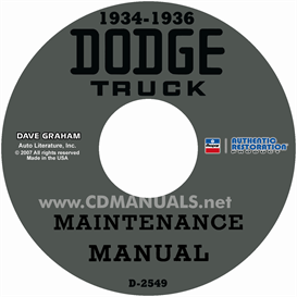 1934-1936 Dodge Truck Shop Manual | eBooks | Automotive