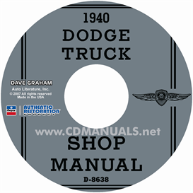 1940 Dodge Truck Shop Manual | eBooks | Automotive