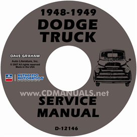 1948-1949 Dodge Pickup & Truck Shop Manual | eBooks | Automotive