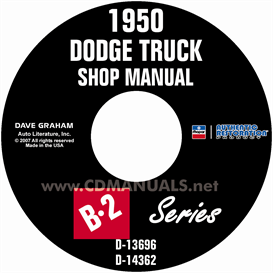 1950 Dodge Pickup & Truck Shop Manual | eBooks | Automotive