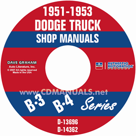 1951-1953 Dodge Pickup & Truck Shop Manual | eBooks | Automotive