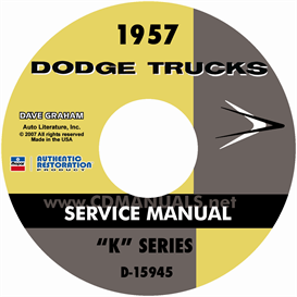 1957 Dodge Truck Shop Manual | eBooks | Automotive