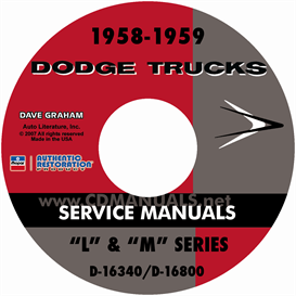 1958-1959 Dodge Truck Manual - All Models | eBooks | Automotive