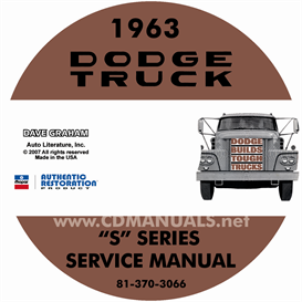 1963 Dodge Truck Shop Manual - All Models | eBooks | Automotive