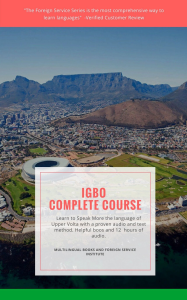 FSI Igbo Basic Course, Digital Edition | eBooks | Language
