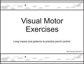 Visual Motor Exercises | eBooks | Fiction
