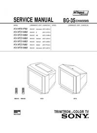 Sony KV-XF21M83 | eBooks | Technical