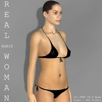 real woman: abbie for v4