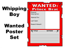 The Whipping Boy - 4 Wanted Posters Set | Other Files | Documents and Forms