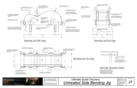 Unheated Guitar Side Bending Jig | Other Files | Patterns and Templates