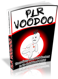 PLR VooDoo | eBooks | Internet