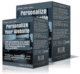 Personlize Your Website | Software | Software Templates