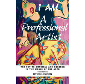 I Am A Professional Artist Book - gilli moon