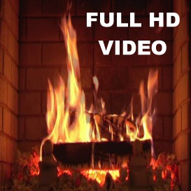 FULL HD ORIGINAL VIDEOKAMIN Fireplace Video (16:9) as MPEG-4 File | Movies and Videos | Special Interest