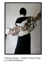 Falling Leaves Freeform Style Wrap | eBooks | Arts and Crafts