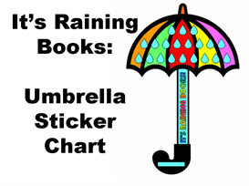 It's Raining Books Sticker Chart Set | Other Files | Documents and Forms