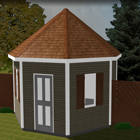 First Additional product image for - Eco Shed And Garden Structures - Plans Package