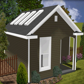 Third Additional product image for - Eco Shed And Garden Structures - Plans Package