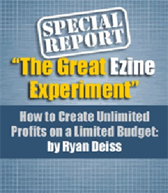 The Great Ezine Experiment | eBooks | Internet