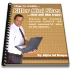 Killer Mini Sites | Software | Design Templates