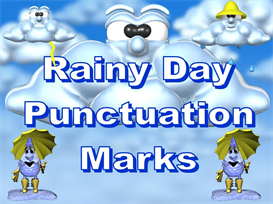 rainy day punctuation power point