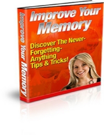 Improve Your Memory ( PLR ) | eBooks | Internet
