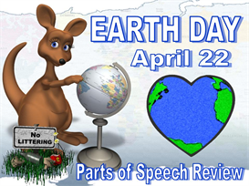Earth Day Parts of Speech Powerpoint | Other Files | Documents and Forms