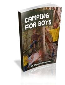 Camping For Boys ( PLR ) | eBooks | Education