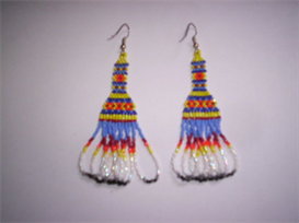 Brick Stitch Native American Style Delica Seed Beading Earring Pattern | Other Files | Arts and Crafts