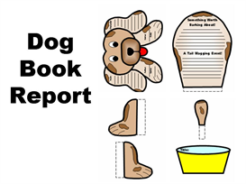 Dog Book Report Set | Other Files | Documents and Forms
