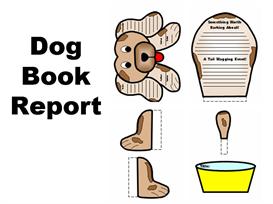 dog book report set