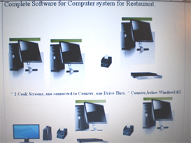 Software for Restaurant, Counter, Cook Screens, Drive Thru Screen, Window 1 and Window 2 | Software | Business | Other