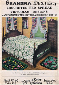 Grandma Dexter Crocheted Bed Spread Victorian Designs No. 40 | eBooks | Arts and Crafts