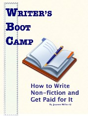 Writer's Boot Camp:How to Write Non-fiction and Get Paid for It! | eBooks | Non-Fiction