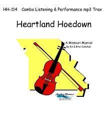 HH-114 Heartland Hoedown Combo Listening/Performance mp3 Trax