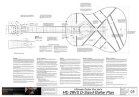 hd-28vs dreadnought guitar plans