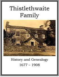 Thistlethwaite Family History and Genealogy | eBooks | History