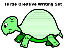 Turtle Creative Writing Set | Other Files | Documents and Forms