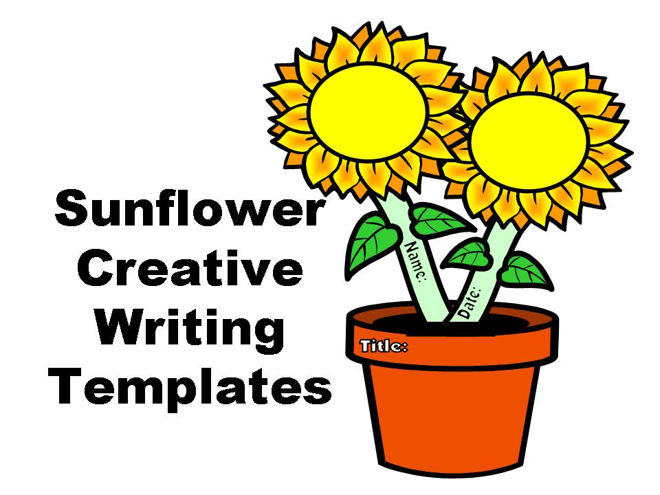 Sunflower Creative Writing Templates | Other Files ...
