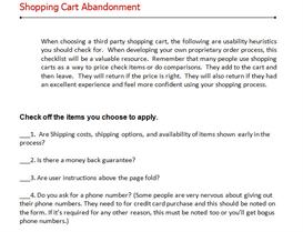 Website Conversions Checklist | eBooks | Internet