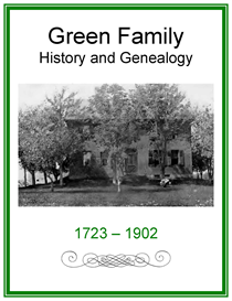 Green Family History and Genealogy | eBooks | History