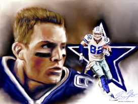 Nfl dallas cowboys jason witten painting other files for Dallas cowboys arts and crafts