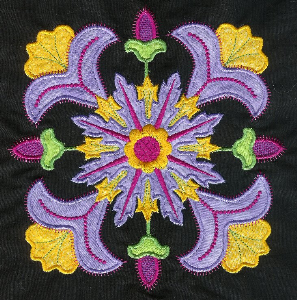 fantasy applique machine embroidery collection hus