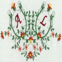 Monogram Potpourri 5x7 Collection | Crafting | Embroidery
