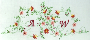 Monogram Potpourri 6X10 Collection   Crafting   Embroidery