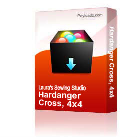 Hardanger Cross, 4x4 | Other Files | Arts and Crafts